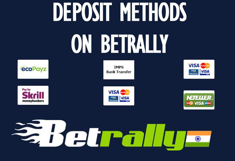 Deposit Methodson Betrally