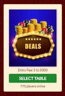 Deals Rummy