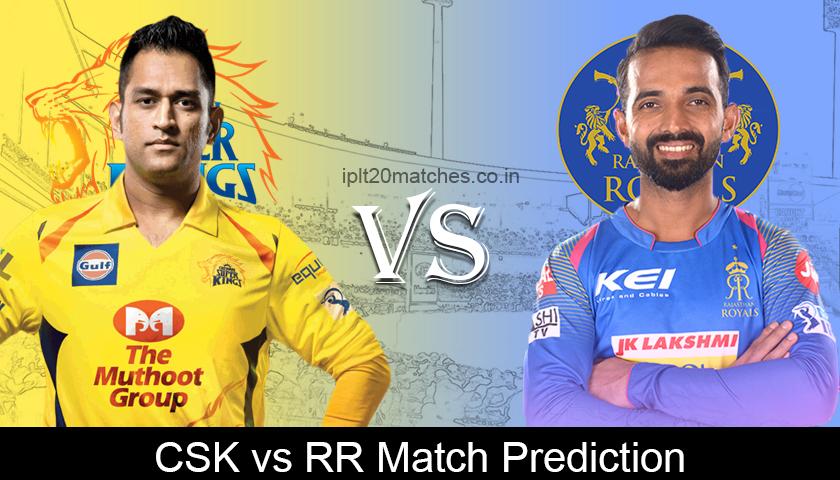 CSK VS RR Match Prediction