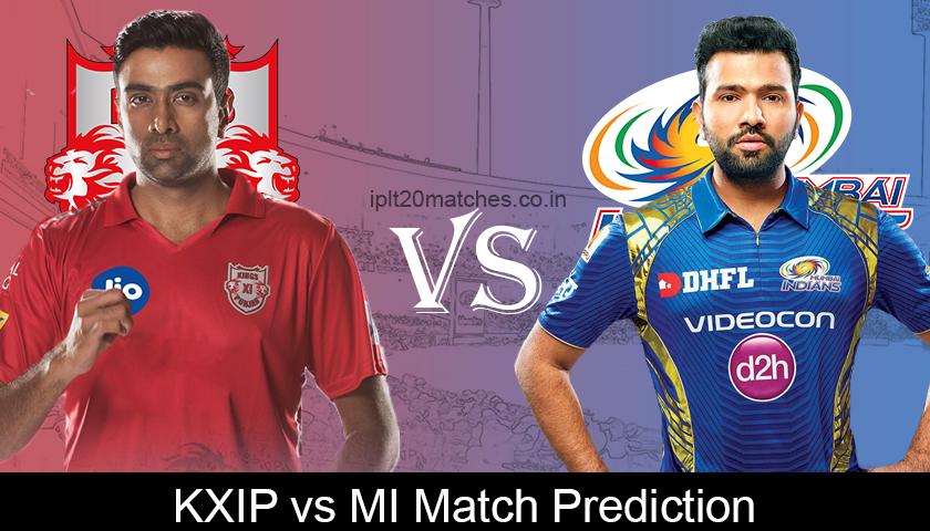 KXIP VS MI Match Prediction (1)
