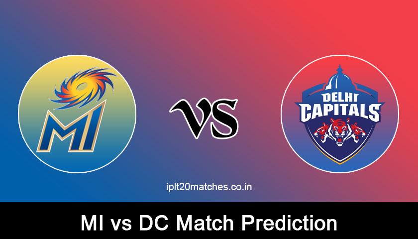 MI VS DC MATCH PREDICTION