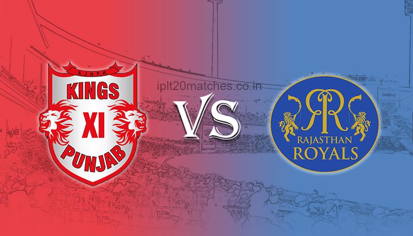 kings xi punjab vs rajasthan royals ipl