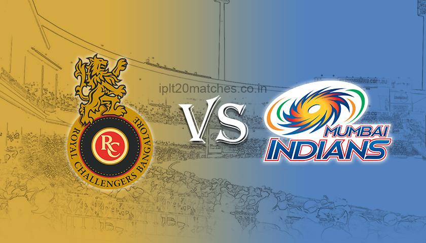 mumbai indians vs royal challenger banglore