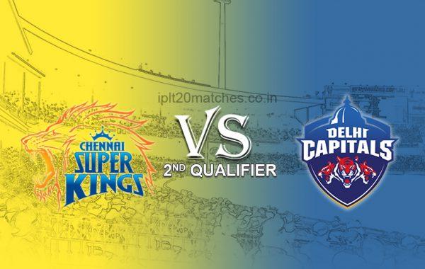 csk vs dc 2nd Qualifier ipl