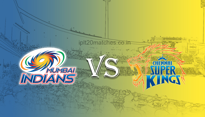 MI Vs CSK IPL Final Match Prediction